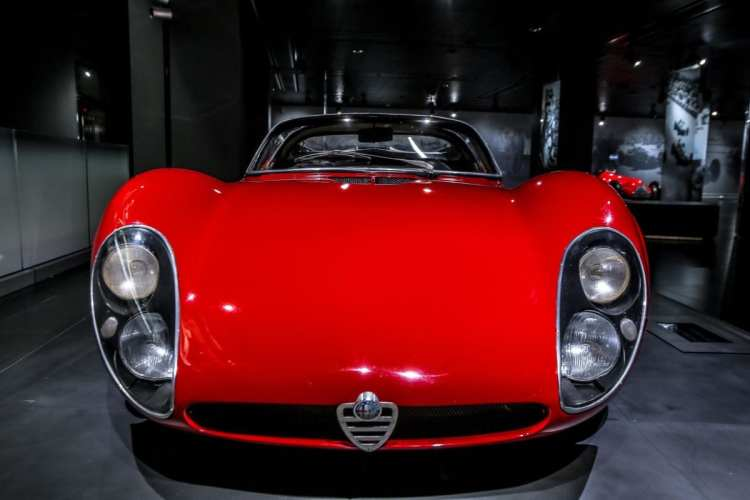 Alfa Romeo Celebrates 50th Birthday Of The Legendary 33 Stradale