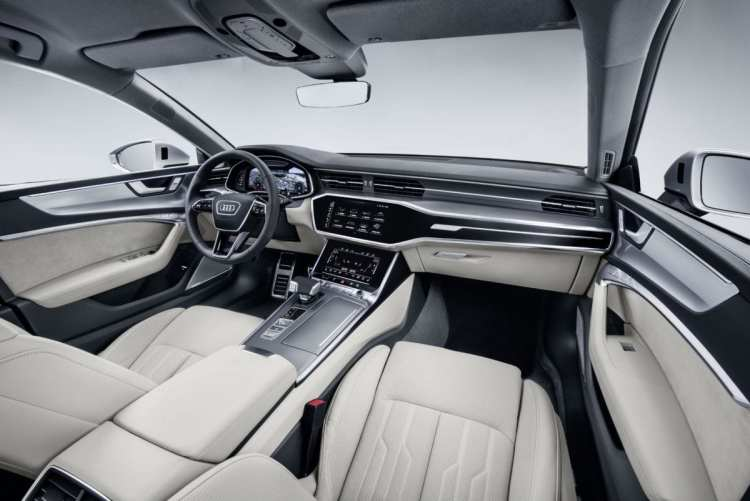 Audi A7 Sportback is unveiled today interior