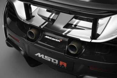 McLaren MSO-R Exterior Detailing