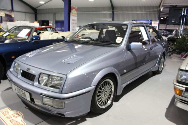 A 1987 Ford Sierra RS Cosworth contributed £37,950 towards to the total sales value of £1.8 million