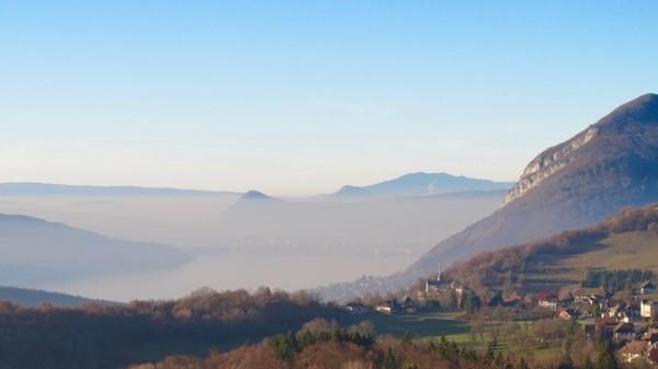 Annecy, ville la plus polluée de France?