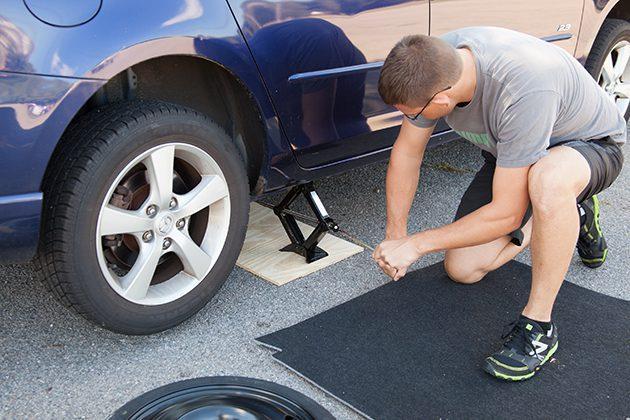 Fix Car Tire