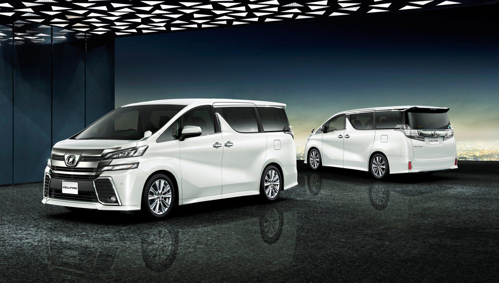 all new alphard vs vellfire kijang innova 2.4 a/t diesel nissan elgrand toyota comparison car from japan