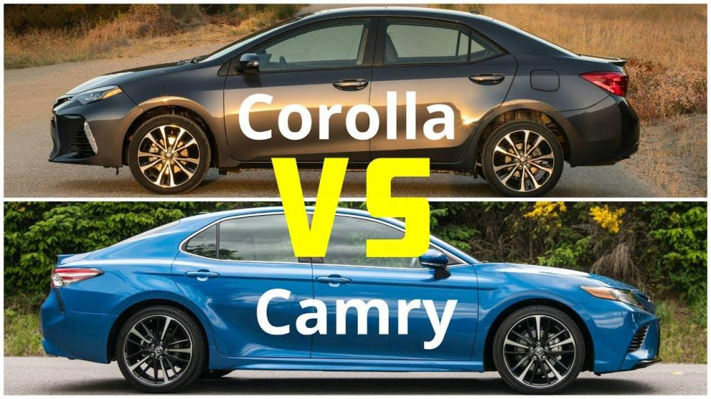 medium resolution of know about toyota camry vs corolla