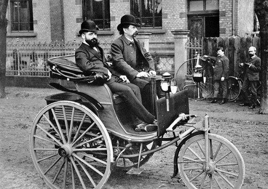 Karl Benz e Gottlieb Daimler