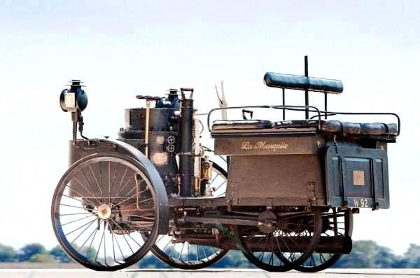 Lançado em 1884, o modelo De Dion Runabout ainda funciona!