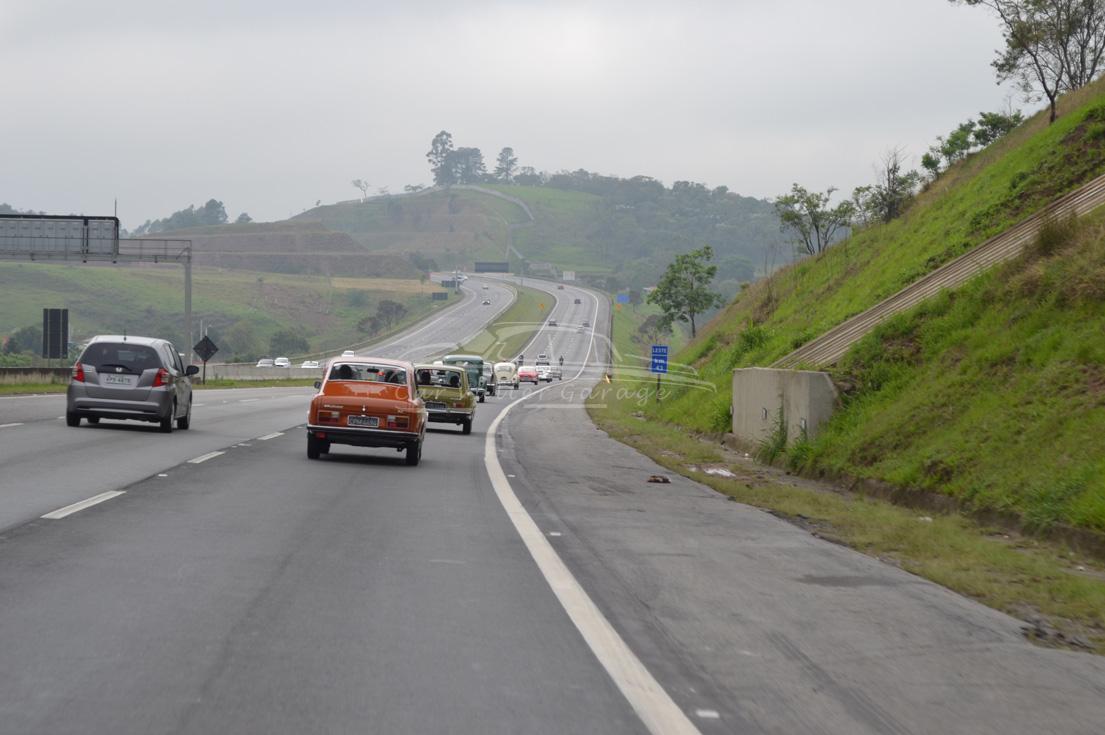 Grupo Reumatismo a caminho de Guararema