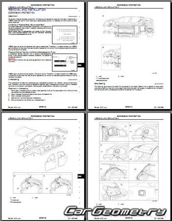 Кузовные размеры Infiniti M37, M56 (Nissan Fuga) 2011-2013