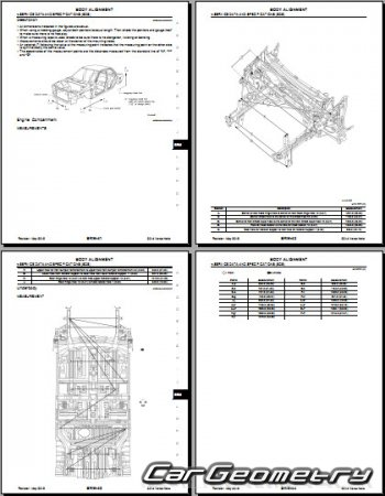 Кузовные размеры Nissan Versa Note (E12) 2013-2019 Body