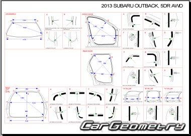 Subaru Legacy 2010-2014 (Sedan BM, Wagon BR) и Subaru