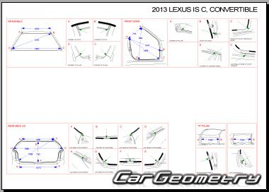 Lexus IS300C, IS250C 2009-2015 (GSE20, GSE21, GSE22