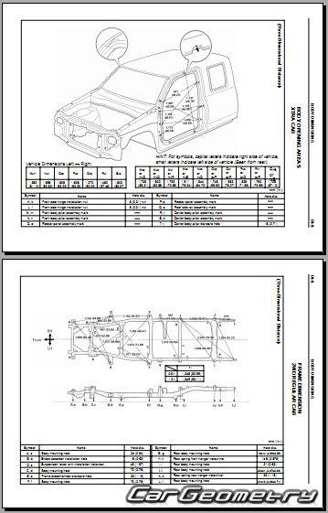 кузовные размеры Toyota T100 1993-1998 (RCK10, VCK11