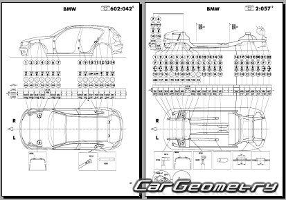 Кузовные размеры BMW 1 Series (E81 и E87) 2005-2011 (3DR