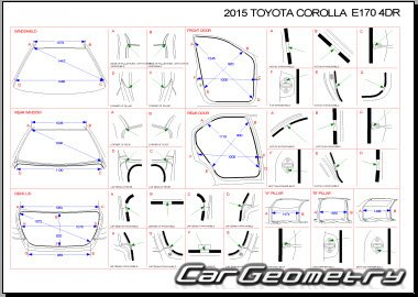 Toyota Corolla (ZRE172) с 2014 Collision Repair Manual
