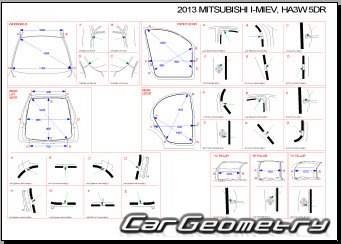 Mitsubishi i-MiEV (HA3W) Body Repair Manual