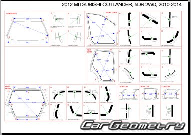 Mitsubishi Outlander XL (CW#) 2009–2012