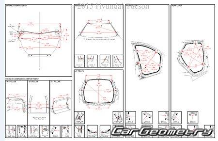 Hyundai ix35 (EL) с 2013 Body Repair Manual