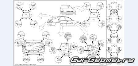 Honda Accord (CG) USA 1998–2002 (Sedan, Coupe) Body Repair