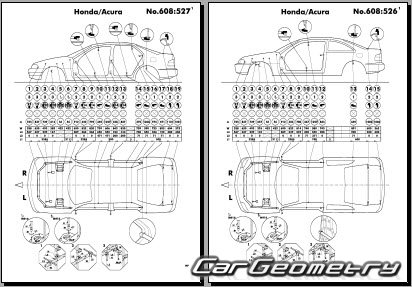 Service manual [Repairing 1995 Honda Civic Body Damage