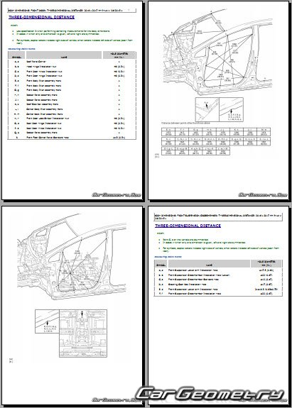 Toyota Prius V 2015-2018 (ZVW41) Collision Repair Manual