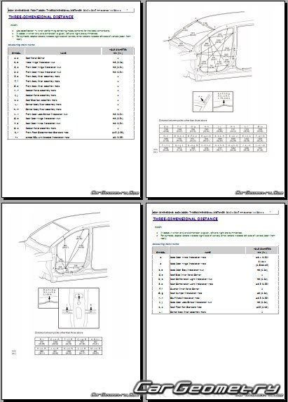 Toyota Avanza (F654) 2015-2017 Collision Repair Manual