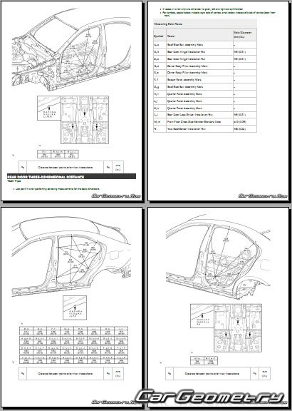 Lexus IS 300h (AVE30) 2017-2020 Collision Repair Manual