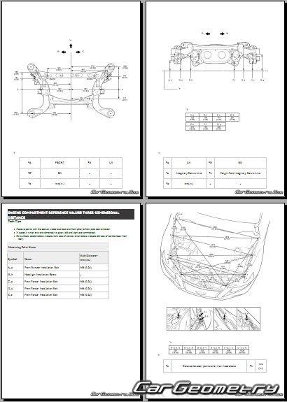 Lexus IS 300h (AVE30) 2017-2020 Collision Repair Manual