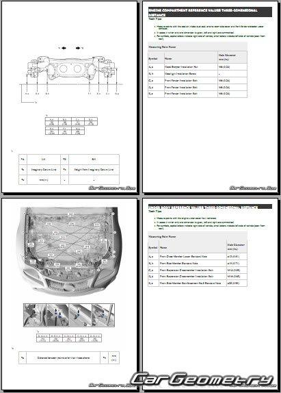 Lexus RC300h (AVC10) 2015-2021 Collision shop manual