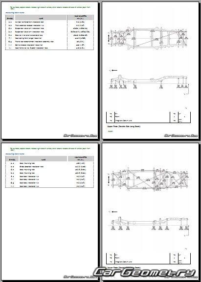 Toyota Tundra (UPK51-56, USK51-57 series) 2014-2021
