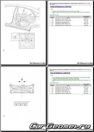 Toyota Avalon Hybrid (AVX40) 2016-2019 Collision Repair Manual