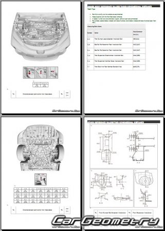 Toyota Mirai (JPD10) 2015-2019 Collision Repair Manual