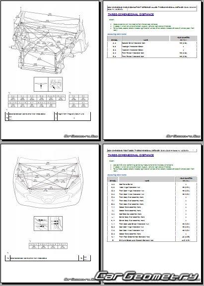 Toyota RAV4 HV (AVA44) 2016-2018 Collision shop manual