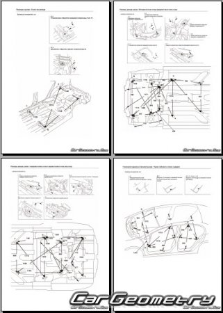 Honda Civic Hybrid (FD) 2006-2011 Body Repair Manual