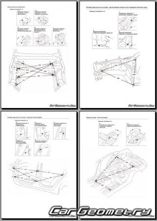 Кузовные размеры Хонда Аккорд 2009-2015 Sedan and Sport