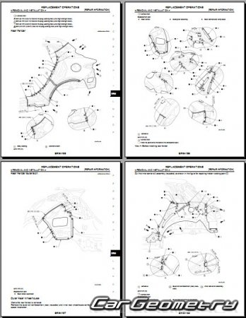 Кузовные размеры Infiniti QX30 (H15) 2016-2023 Body Repair