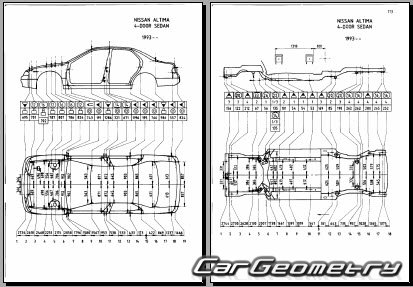 Nissan Altima (U13) 1993-1997 Body Repair Manual