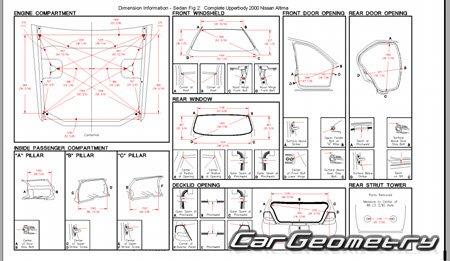 Nissan Altima (L30) 1998-2001 Body Repair Manual