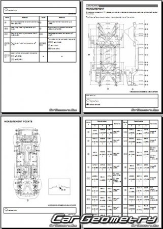 Nissan Rogue Sport (J11) 2017-2022 Body Repair Manual