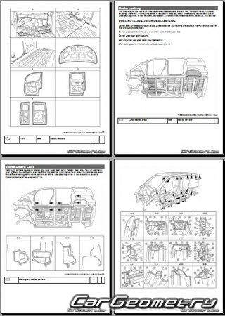 Кузовные размеры Nissan NV200 (M20) 2014-2020