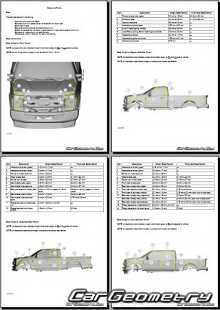 Ford F-250, 350, 450, 550 Super Duty 2017-2024