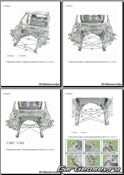 Размеры кузова Hyundai Palisade (LX2) с 2020 Body Repair