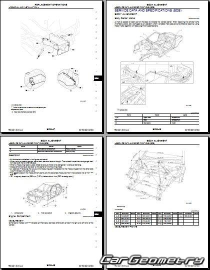 Размеры кузова Infiniti G37 Convertible (V36) 2009-2013