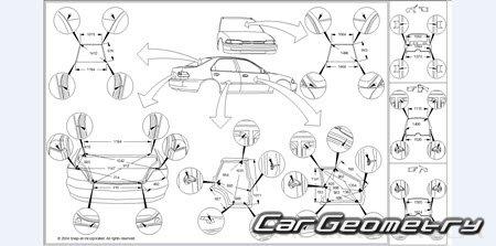 Mitsubishi Galant 1997–2005 (Sedan и Wagon) Body Repair Manual