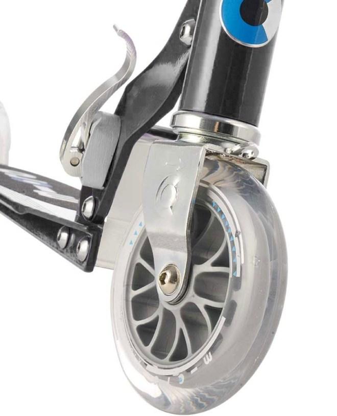 micro sprite scooter front wheel black SA0026