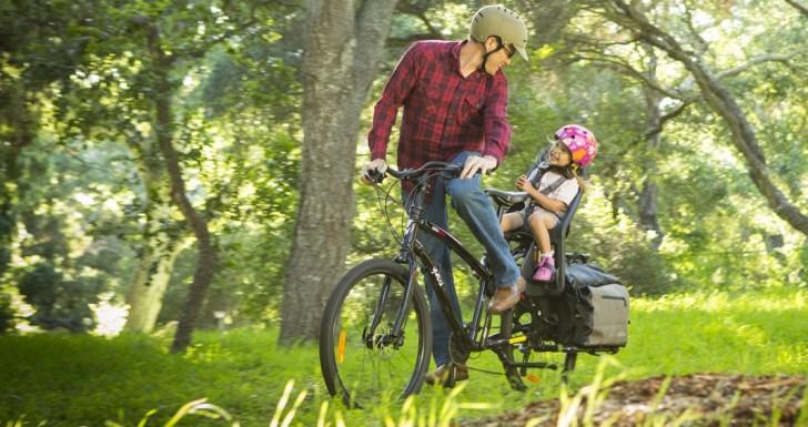 Get off road with the Boda Boda mountain cargo bike from Yuba bikes.