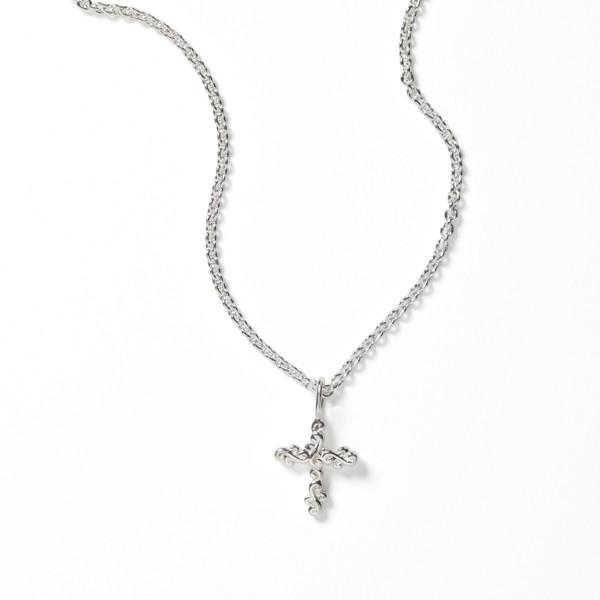 Southern Gates® Scrolling Vine Cross Necklace