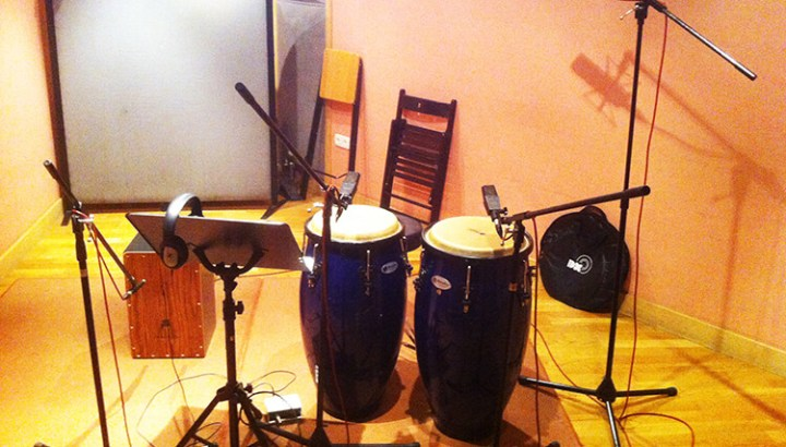 percusion microfonada