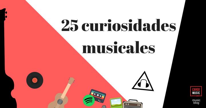 curiosidades musica