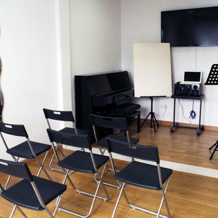 espacio para conferencias