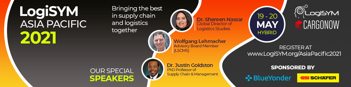 LogiSYM Asia Pacific 2021: The Premier Supply Chain & Logistics Conference HYBRID